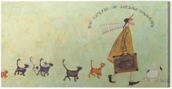 Stampa su Tela Sam Toft - The Suitcase of Sardine Sandwiches