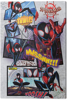 Stampa su Tela Spider-Man: Un nuovo universo - Comic