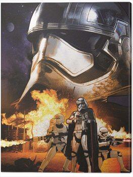 Stampa su Tela Star Wars Episode VII - Captain Phasma Art