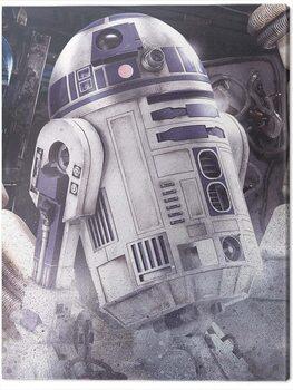 Stampa su Tela Star Wars The Last Jedi - R2 - D2 Droid