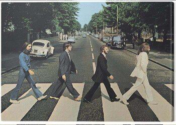 Stampa su Tela The Beatles - Abbey Road