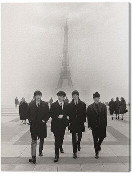 Stampa su Tela The Beatles - Paris
