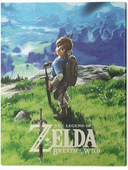 Stampa su Tela The Legend of Zelda: Breath of The Wild - View