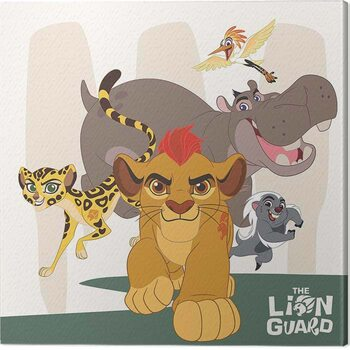 Stampa su Tela The Lion Guard - Characters