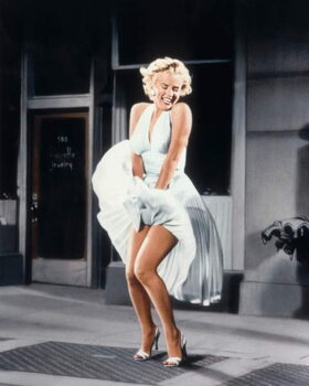 Stampa su Tela The Seven Year itch  directed by Billy Wilder, 1955