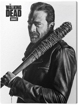 Stampa su Tela The Walking Dead - Negan