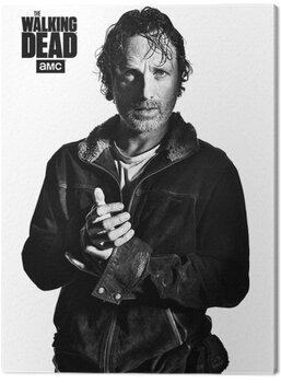 Stampa su Tela The Walking Dead - Rick