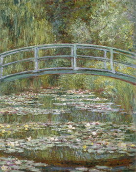Stampa su Tela The Water-Lily Pond, 1899