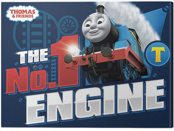 Stampa su Tela Thomas & Friends - The Number One Engine