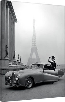 Stampa su Tela Time Life - France 1947