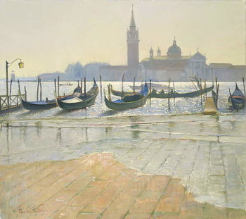 Stampa su Tela Venice at Dawn