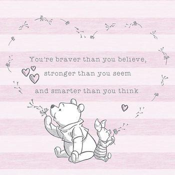 Stampa su Tela Winnie the Pooh - Believe