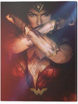 Stampa su Tela Wonder Woman - Power