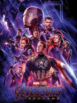 Stampa su Tela Avengers: Endgame - Journey's End