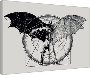 Stampa su Tela  Batman - Dark Arts