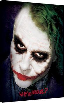 Stampa su Tela Batman: Il cavaliere oscuro - Joker Face