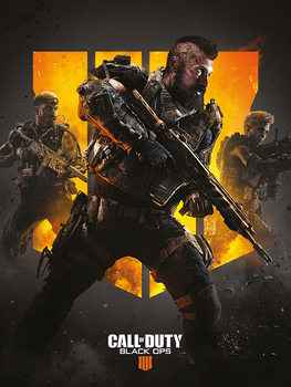 Stampa su Tela  Call of Duty: Black Ops 4 - Trio