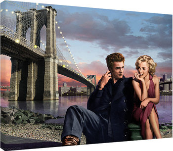Stampa su Tela Chris Consani - Brooklyn Nights