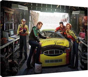 Stampa su Tela  Chris Consani - Eternal Speedway