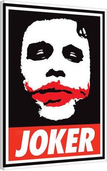 Stampa su Tela Ferrari - The Dark Knight - Obey The Joker