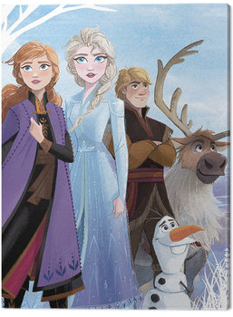 Stampa su Tela Frozen: Il regno di ghiaccio 2 - Stronger Together