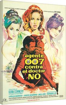 Stampa su Tela James Bond - James Bond is Back!