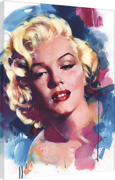 Stampa su Tela James Paterson - Marilyn