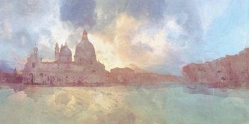 Stampa su Tela  Malcolm Sanders - The Grand Canal
