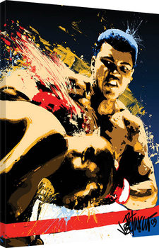 Stampa su Tela Muhammad Ali - Stung - Petruccio