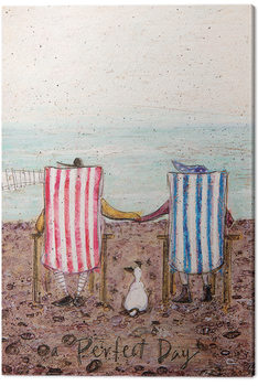 Stampa su Tela  Sam Toft - Perfect Day