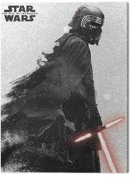 Stampa su Tela Star Wars: L'ascesa di Skywalker - Kylo Ren And Vader