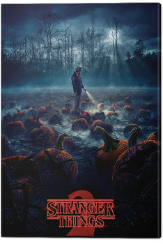 Stampa su Tela  Stranger Things - Pumpkin Patch