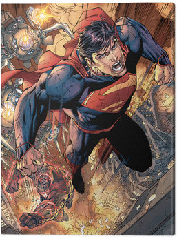 Stampa su Tela Superman - Wraith Chase