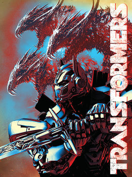 Stampa su Tela Transformers – L'ultimo cavaliere - Dragons