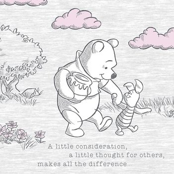 Stampa su Tela Winnie the Pooh - A Little Consideration