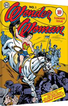 Stampa su Tela Wonder Woman - Adventure