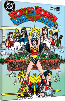 Stampa su Tela Wonder Woman - Fantastic