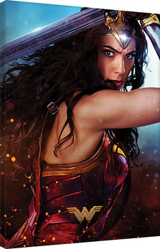 Stampa su Tela Wonder Woman - Wonder