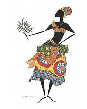Baga Woman - Stampe d'arte