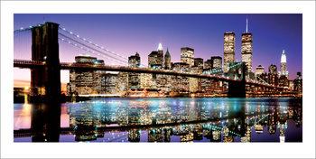 Brooklyn Bridge - Colour - Stampe d'arte