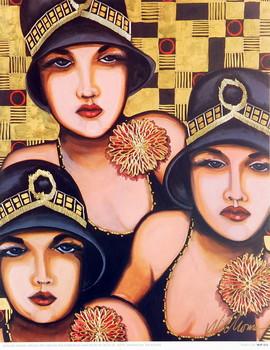 Stampe d'arte Fabulous Trio