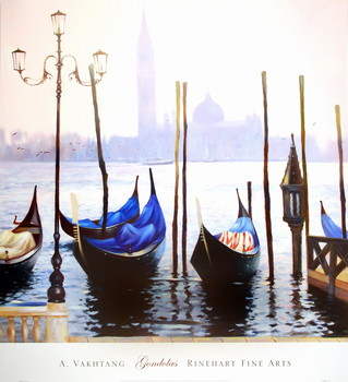 Gondolas - Stampe d'arte