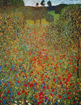Gustav Klimt - Il Prato - Stampe d'arte