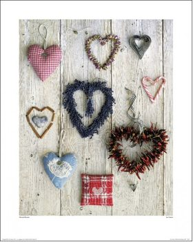 Stampe d'arte Howard Shooter  - Les Coeurs