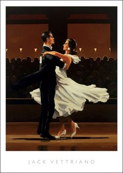 Stampe d'arte Jack Vettriano - Take This Waltz