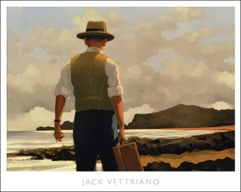 Jack Vettriano - The Drifter Poster - Stampe d'arte