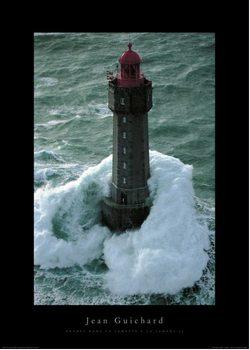 Jean Guichard - Phare Dans La Tempête, La Jument II - Stampe d'arte