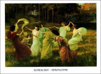 Stampe d'arte Kowalsky - Springtime