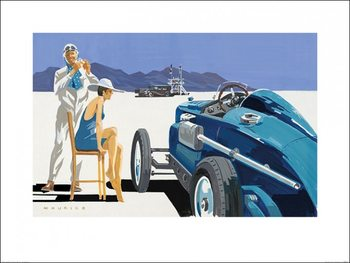 Stampe d'arte Mike Maurice - Bonneville Salt Flats 10