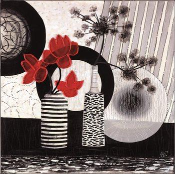 Red art 2 – Trittico - Stampe d'arte